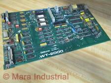 Weltronic WT-2000 Circuit Board WT2000 - Used