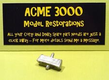 Dinky 255 Mini Clubman Reproduction Repro White Metal Police Roof Sign