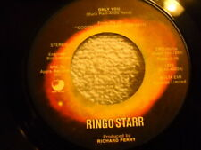 Ringo Starr Only You / Call Me 45 1974 Apple 1876 Nebulus Label Vinyl Record
