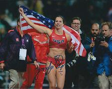 Jennifer Jenn SUHR Autograph Signed Photo AFTAL COA Olympics American Pole Vault