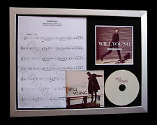 WILL YOUNG Jealousy LTD GALLERY QUALITY CD FRAMED DISPLAY+EXPRESS GLOBAL SHIP
