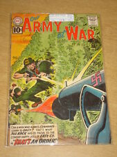 OUR ARMY AT WAR #110 G/VG (3.0) DC COMICS SEPTEMBER 1961 < **