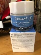 Derma E Hydrating Night Cream Hyaluronic Acid & Green Tea 2 Oz BNIB