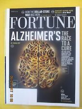 Fortune magazine - May 5, 2015 - Alzheimer's The race to a cure cover