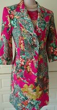 CHRISTIAN LACROIX 1980's SKIRT SUIT SIZE FR 38 UK 8/10