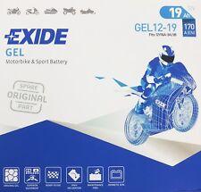 Exide Batterie au Gel Moto 519901 / Gel G19/51913