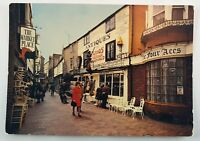 The Lanes Brighton Sussex England The Market Place Real Picture Vintage Postcard