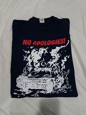 Supreme No Apologies T-shirt Navy Blue Large