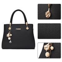 Women PU Leather Handbag Fashion Shoulder Messenger Tote Hobo Crossbody Bag