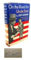Joey Adams ON THE ROAD FOR UNCLE SAM  1st Edition 1st Printing