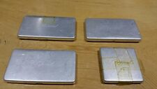 4 x Genuine Vintage Chopard Watch Part Metal Containers