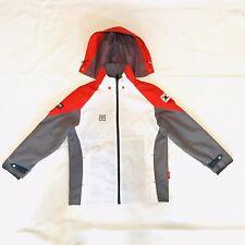 MOOTO Hooded Windbreaker Jacket Full Zip Size (1) 150 Taekwondo Korea