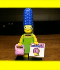LEGO THE SIMPSONS SERIES 1 MARGE w/ DONUT FANCY BAG GENUINE MINIFIGURE #71005