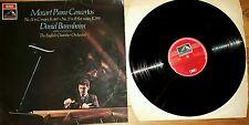 Mozart Piano Concertos vinyl lp