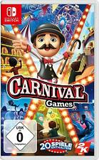 Carnival Games Switch New+Boxed