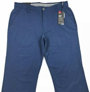 Under Armour Golf UA Play Vented Light Blue Boat Pants 1259430 408 Mens 38 x 32