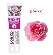 New Homeopathic Aromatherapy Toothpaste with Organic Rose Water Refreshes Breath