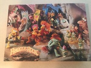 Vintage 1984 Springbok Frolicking Fun In Fraggle Rock 100 Pc. Puzzle - Complete