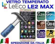VETRO TEMPERATO PELLICOLA PROTEGGI SCHERMO DISPLAY LEECO LE 2 MAX2 X820 LE2 MAX