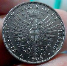 Moneta 25 Centesimi  Vittorio Emanuele III   1902 R    ( MR003 )