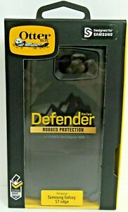 OtterBox DEFENDER SERIES Case for Samsung Galaxy S7 EDGE Model ONLY-Black