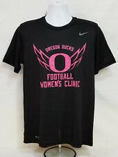 Oregon DUCKS Football WOMEN'S CLINIC Nike Dri-Fit TEE SHIRT    Men's  L