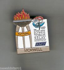 MORWELL  2000 OLYMPIC AMP TORCH RELAY PIN