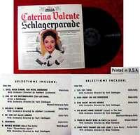 LP Caterina Valente: Schlagerparade (Decca DL 8852) US