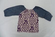 Roxy Kids 5T Top Shirt San Dolar L/S Lilac