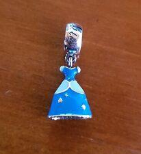 Charm pendente PANDORA Disney ABITO DI CENERENTOLA argento 925 Nuovo Originale