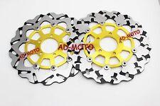 Front Brake Disc Rotors For Suzuki GSX1300 Hayabusa 1999-2007 TL1000 1997-2003