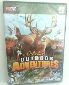 Cabela Outdoor Adventures PC DVD Video Game NWOT New 2009 Activision T Teen