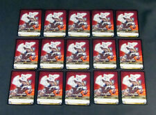 Lot of (15) World of Warcraft WoW TCG The Decapitator Gladiators - Weapon Rare
