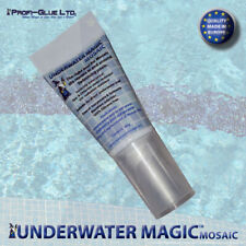 underwater swimming pool adhesive and sealant, color: white 2 x 60g