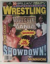 RINGSIDE WRESTLING # 17 - WRESTLEMANIA - MAY 1999