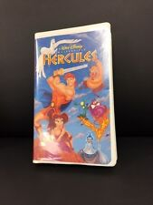 A Walt Disney MasterPiece HERCULES VHS Tape Collection ClamShell Case RARE 1998