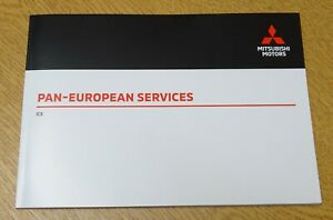 GENUINE MITSUBISHI SERVICE BOOK FOR PETROL AND DIESEL VEHICLES ALL MODELS BLANK
