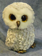 Ty Beanie Boos Medium -owlette The White Owl 22cm Birthday April 20