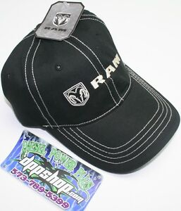 dodge black trucker cap truck hat ball logo baseball mopar Ram truck diesel gear