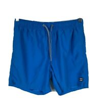 Billabong Layback Mens Swim Shorts Board Shorts Size 30 Blue Elastic Waist