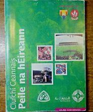 GAA : ALL IRELAND FOOTBALL FINAL PROGRAMME 1993. CORK V DERRY.
