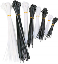 Tektiko Multi Pack Cable Ties – Adjustable Heavy-Duty Cable Ties in Various 100,