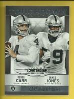 Derek Carr RC 2014 Contenders Touchdown Tandems Rookie Card Oakland Raiders NFL