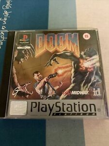 Doom (Sony PlayStation 1, 1995)- COMPLETE