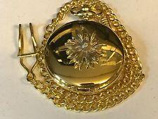 Piccolo Fiore tg118 peltro su una tasca Oro Orologio al quarzo Fob