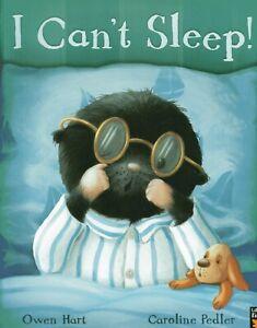 I CAN'T SLEEP! Owen Hart - Brand New Bedtime Story Book