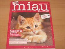 """miau Kuschelige Zeiten """"Schnurren vor Glück"""" Ausgabe 2019"""