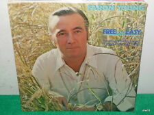 FARON YOUNG - FREE AND EASY - SEALED VINYL LP