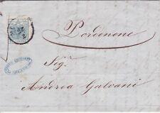 Austria 1854 lettera Milano Milano Lombardia Mitteleuropa Mer 5 X del 22.2.1854