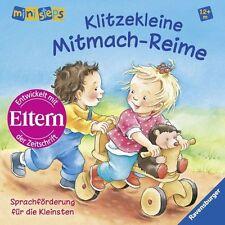 ministeps Bücher: Klitzekleine Mitmach-Reime: Sprachförderung für die Kleinsten